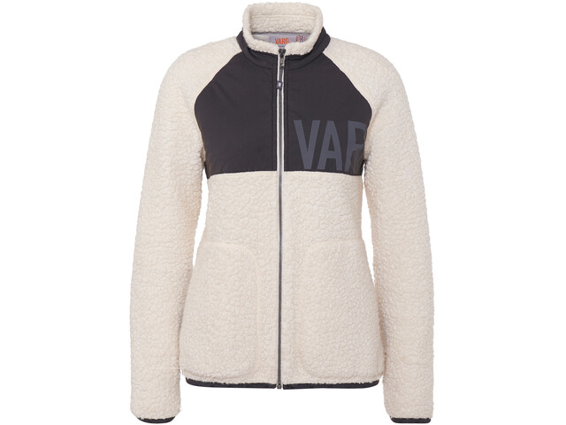 Varg Vargön Fat Wool Jacket Women, off white